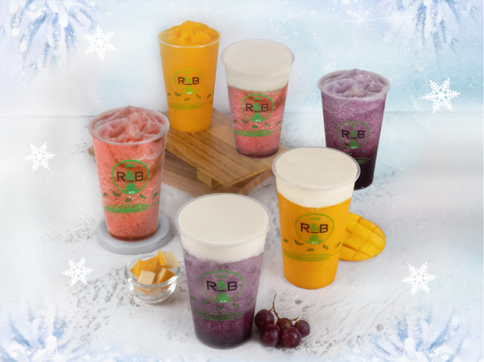 R&B Tea's Ice Blend Series Launch