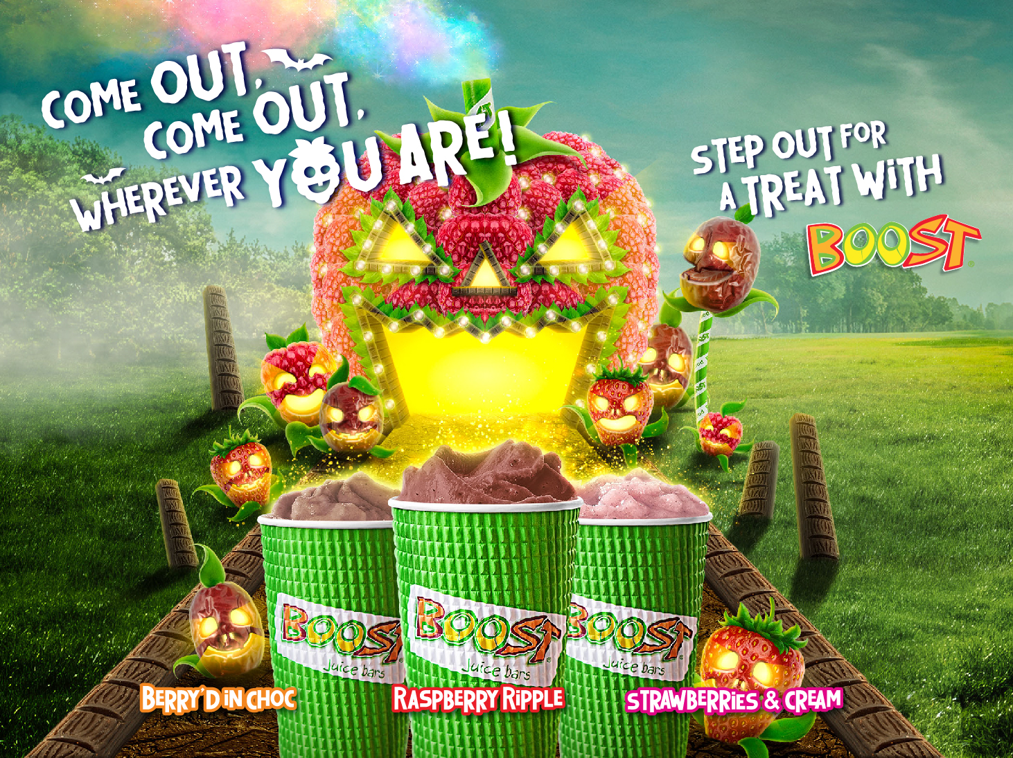 Step Out for a Treat with Boost Juice Bars