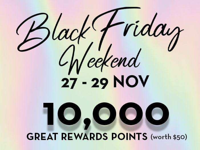 Black Friday Weekend (GW)