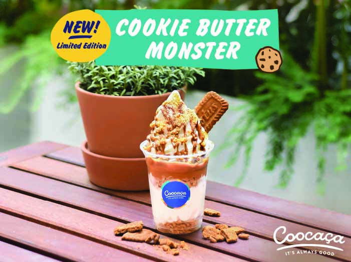 Cookie Butter Monster @ Coocaça